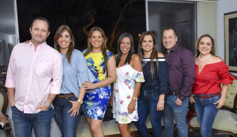Óscar Gómez, María Margarita Higuera, Glenda Vega, Martha Lizcano, Érika Moreno, Jhon Harry Tabares y Sandra Cuevas. - Suministrada/GENTE DE CABECERA