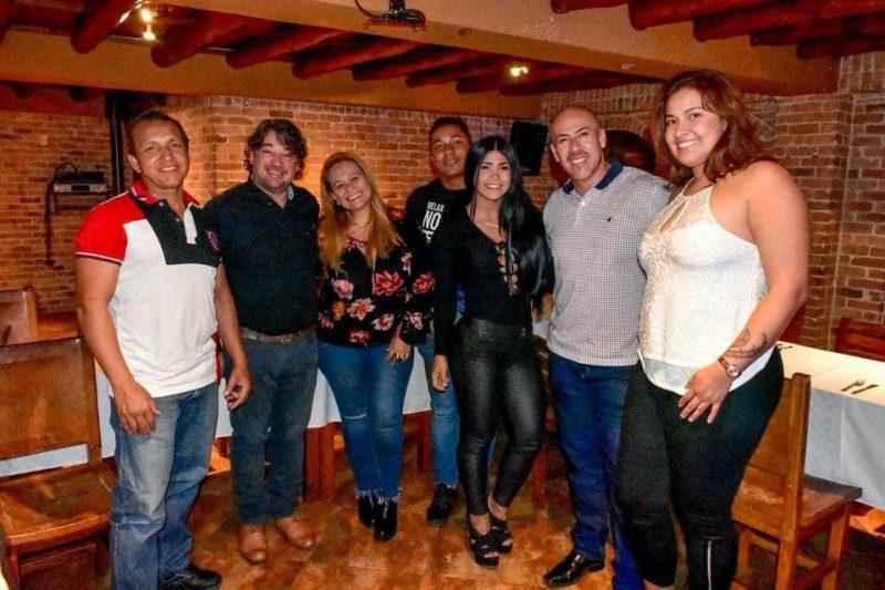 Andrea Ruiz, Giovanni Herrera, Liseth Carolina Cegarra, Adriana Caballero, Leonardo Palencia, Daniel Castro y William Castro. - Suministrada/GENTE DE CABECERA