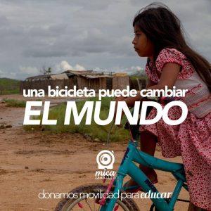 Donamos movilidad para educar es el nombre del programa bandera de la fundación Mica Sonrisas. - Suministrada / GENTE DE CABECERA