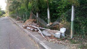 El daño de la malla ha generado el aumento de la inseguridad dentro del parque La Flora. - Suministrada / GENTE DE CABECERA