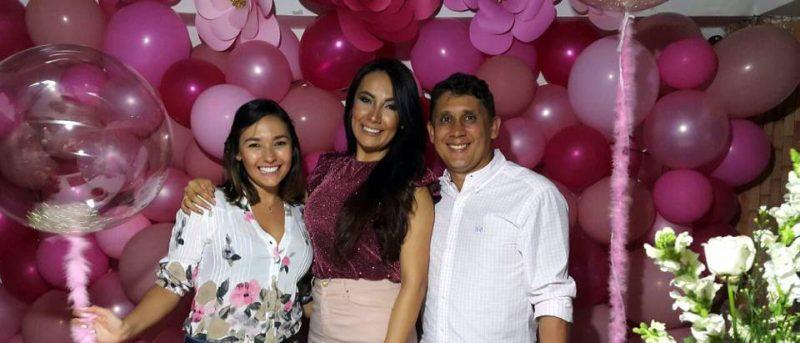Silvia Alejandra Torres Camargo, Carolina Angarita y Fabián Villarreal Murillo. - Suministrada / GENTE DE CABECERA