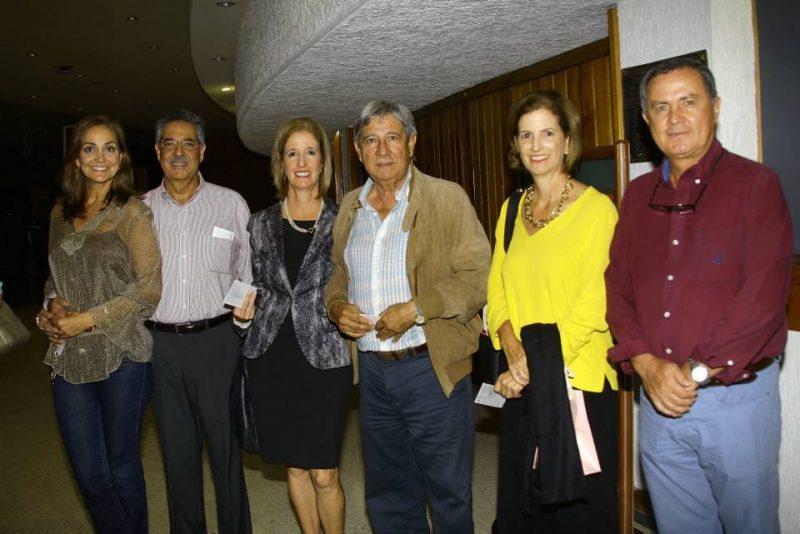 Cristina Mutis, Guillermo Samur, Liliana Ortiz, Humberto Páez, Mónica Ortiz y Jorge Loza. - César Flórez /GENTE DE CABECERA