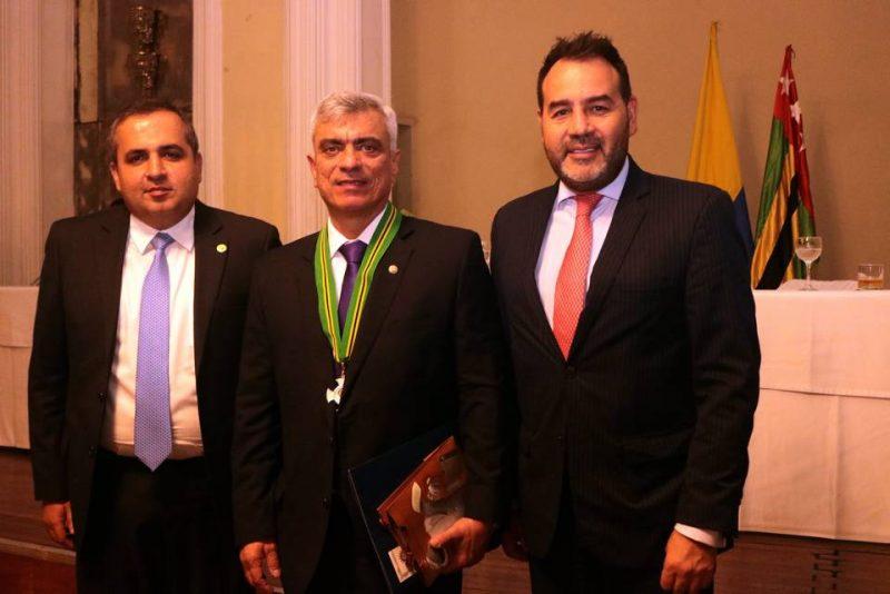 Camilo Arenas Valdivieso, Julián Rodríguez y Manuel Ricardo Sorzano Romero. - Fabián Hernández/GENTE DE CABECERA