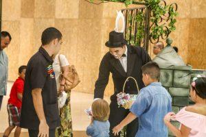 El juego interactivo de Pascua estará durante abril en el centro comercial Cacique. - Suministrada / GENTE DE CABECERA