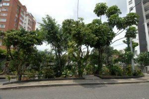 El parque está ubicado justo en el punto donde termina El Prado y comienza Cabecera. - Jaime Del Río / GENTE DE CABECERA