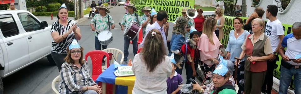 Habitantes de la 40 'celebraron' un año de los cambios viales