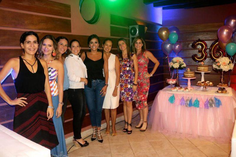 Valentina Flórez, Sofía Rincón, Luisa Muñoz, Melina Galvis, Tatiana Flórez, Otilia Silva, Isabel Díaz y Lina Zárate. - Fabián Hernández/GENTE DE CABECERA