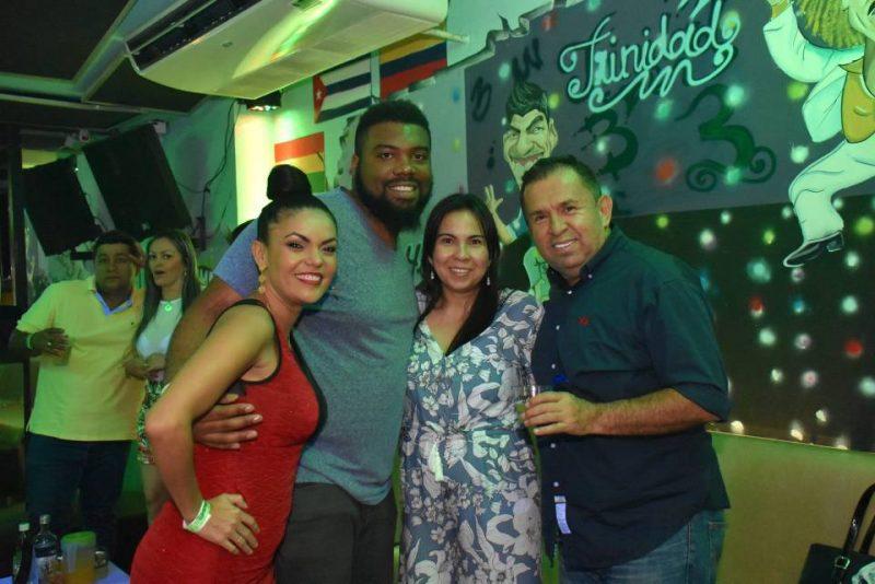 Carolina Mejía, Shimon Croxton, Xiomara Silva y Humberto Jiménez. - Suministrada / GENTE DE CABECERA