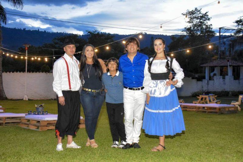 William Prada, Diana Rincón, Santiago Mogollón, Óscar Mogollón y Yosi Gómez. - Suministrada/GENTE DE CABECERA