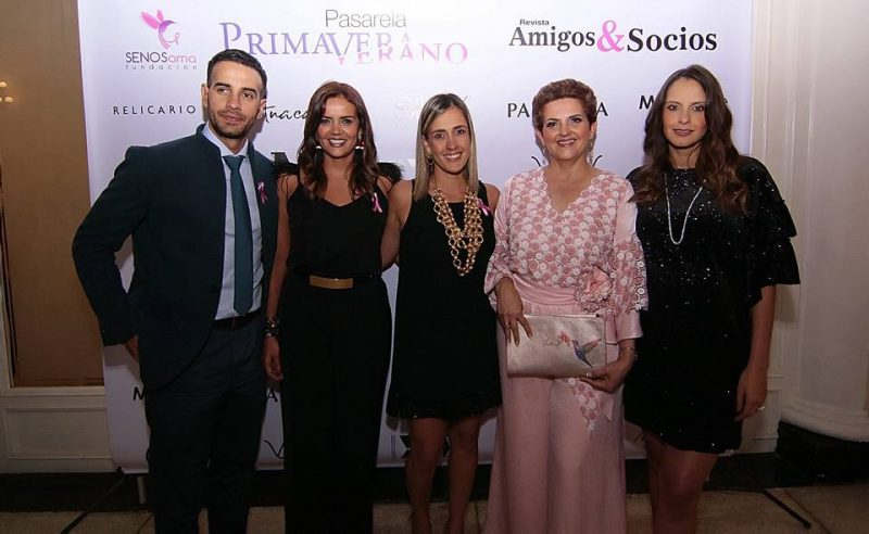 Tuto Patiño, Tatiana Flórez, María Angélica López, Claudia Amaya y Laura Acuña. - Élver Rodríguez/GENTE DE CABECERA