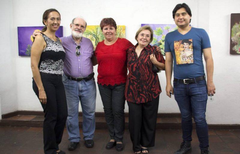 Adela Fuentes, Mario Gómez, Martha Lucía Reyes, Bertha Isabel Uribe y Juan Gregorio Hernández. - Suministrada/GENTE DE CABECERA