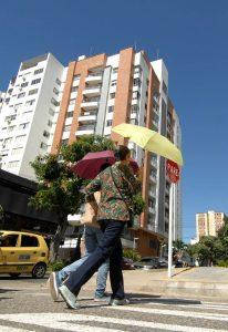 De acuerdo con el Ideam, en marzo Bucaramanga estuvo entre las cinco ciudades que superaron en al menos 1,2 grados centígrados los valores promedio de temperatura. - Jaime Del Río / GENTE DE CABECERA