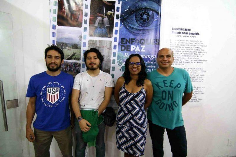 Jorge Pulido, Andrés Lamus, Vanexa Romero y Pablo Porras. - Élver Rodríguez/GENTE DE CABECERA
