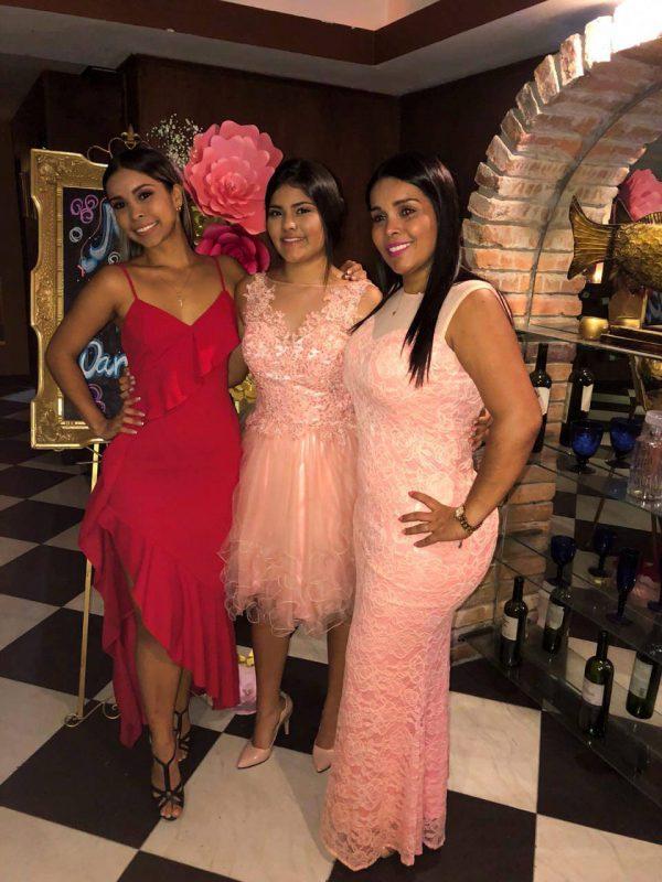 Silvia Juliana Jaimes Ruiz, Daniela Alejandra Bonilla Ruiz y Adriana Marcela Ruiz Villamizar. - Suministrada/GENTE DE CABECERA