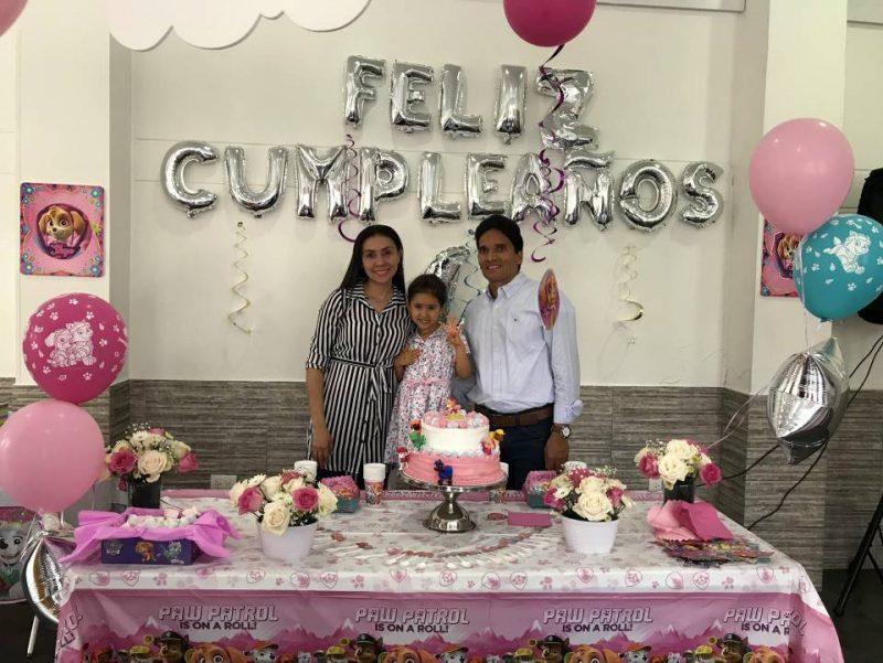 Carolina Ramos, María Valentina Gualdrón Ramos y Rafael E. Gualdrón. - Suministrada/GENTE DE CABECERA