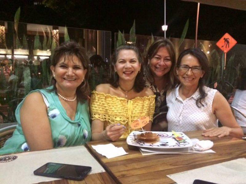 Elsa Peñaloza Bueno, Leyci Muñoz Ulloa, Martha Medina Torres y Martha Arias de Neira. - Suministrada/GENTE DE CABECERA