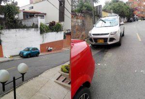 Los peatones son los principales perjudicados por la desconsideración de los propietarios de estos vehículos. - Suministradas/GENTE DE CABECERA