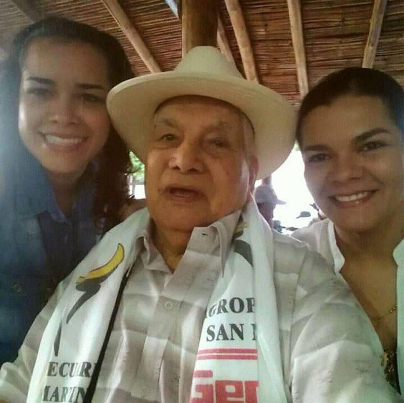 Andrea Benjumea Sánchez, José Ramiro Sánchez Pacheco y Lina Sofía Benjumea Sánchez. - Suministrada/GENTE DE CABECERA