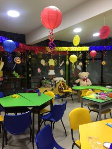 La 'Zona Feliz' funciona en el primer piso del Hospital Universitario de Santander, en el área de Oncología. - Suministrada/GENTE CABECERA