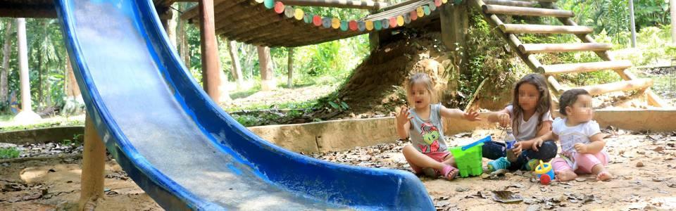 Preocupación por deterioro del parque La Flora