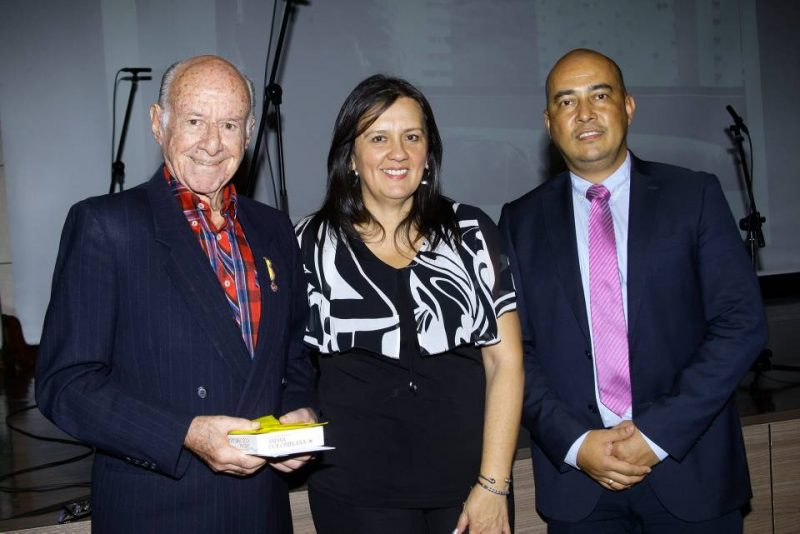 Hernando Abril Estévez, Carmen Cecilia Quintero y Elkin Rafael Amado Gaona. - César Flórez/GENTE DE CABECERA