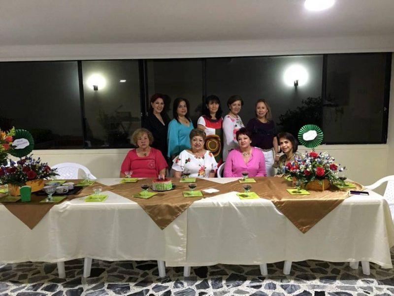 María Alain Cáceres, Julieta Pérez, María Eugenia Espinosa, Luz Marina Sanchez de Prada, Edith Prada García, Elsa Liliana Moreno, Rosalba Gualdrón, Rosita Rueda y María Isabel Valenzuela. - Suministrada/GENTE DE CABECERA