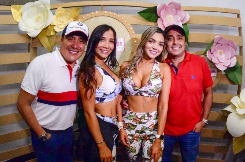 Christian Arias, Carolina Celis, Adriana Torres y Carlos Torres. - Suministrada/GENTE DE CABECERA