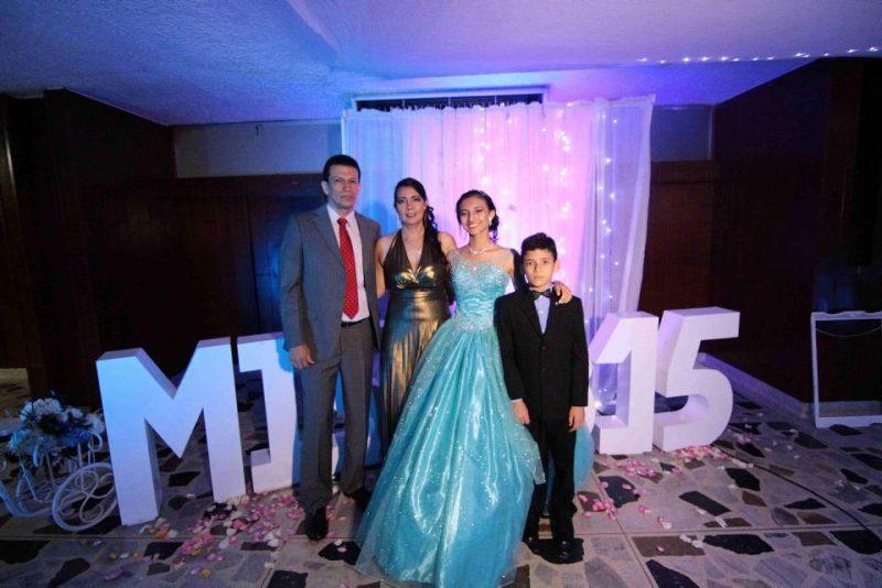 Mauro Amaya, Diana Rojas, Nathalia Amaya Rojas y Alejandro Amaya Rojas. - Élver Rodríguez/GENTE DE CABECERA