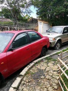 El dueño de un vehículo abandonado podría ser sancionado con una multa cercana a los $400 mil. - Suministrada/GENTE DE CABECERA
