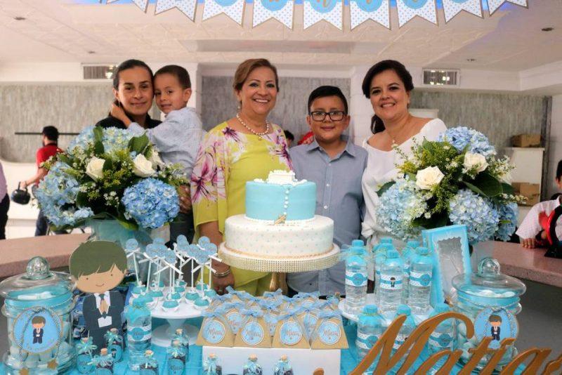 Yenny Maribel Gómez, Juan Diego Forero, Gladys Barrera, Matías Forero Lizarazo y Mónica Lizarazo. - Fabián Herández/GENTE DE CABECERA