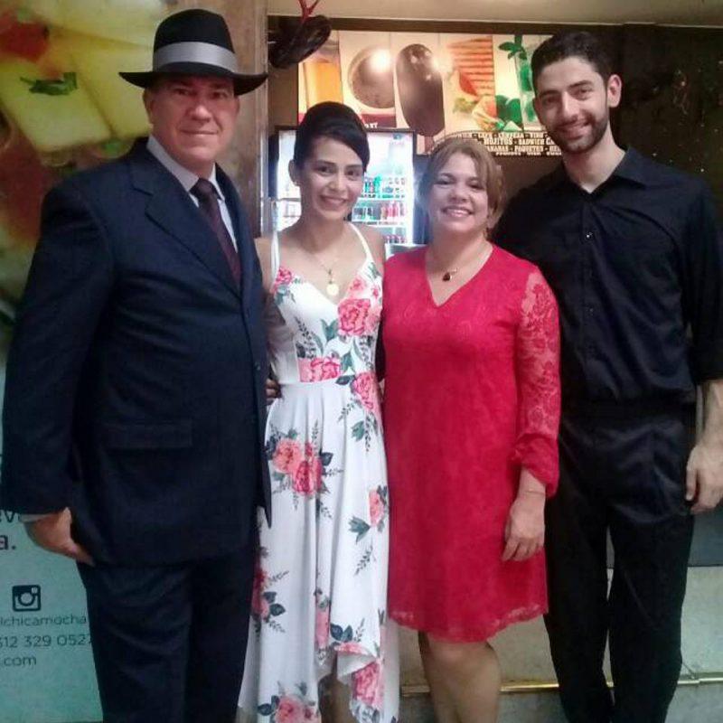 Juan Carlos Ballesteros, Mónica Jerez, Ana Ardila y Andrés Restrepo. - Suministrada/GENTE DE CABECERA