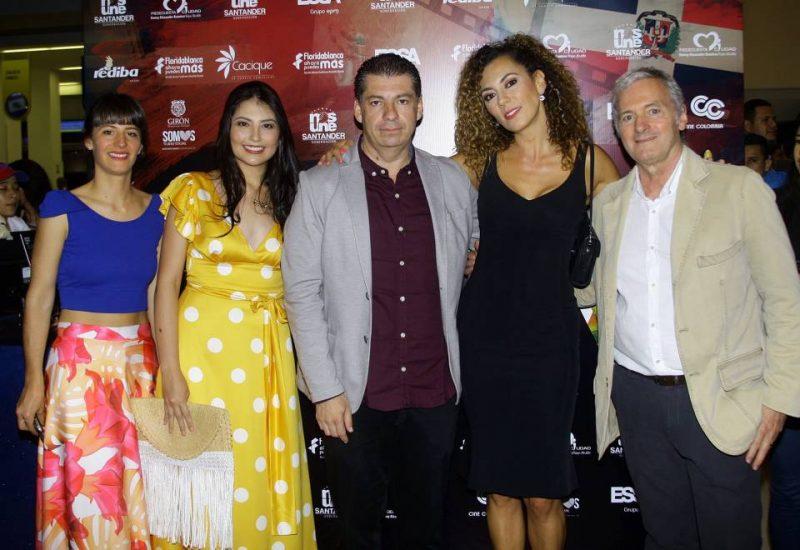 Valentina Cabrera, Laura Rodríguez, Óscar Fonseca, Andrea Guzmán y Sergio Cabrera. - César Flórez/GENTE DE CABECERA