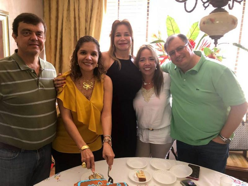 Juan José Toro, Carolina Cardoso, Nidia Aristizábal, Ana Milena Manosalva y Padre Rodolfo Abello SJ. - Suministrada/GENTE DE CABECERA