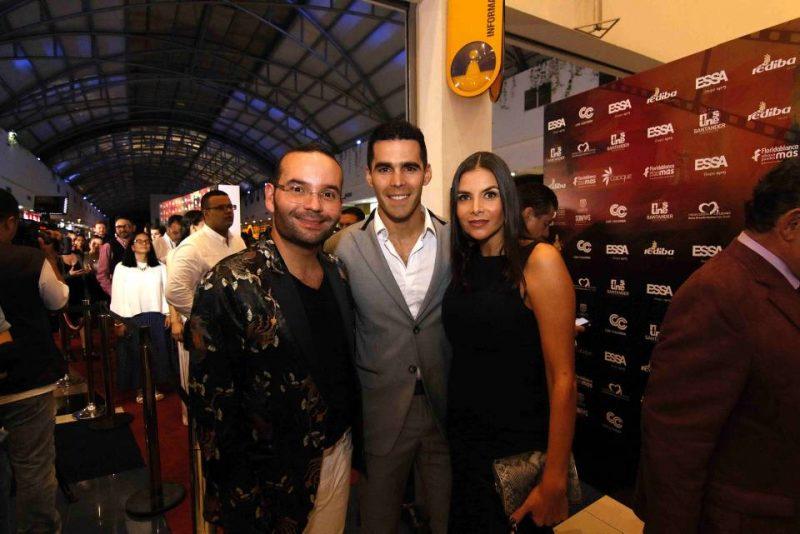 Santiago Giraldo, Pedro Pallares y Natalia Ramírez. - Élver Rodríguez/GENTE DE CABECERA