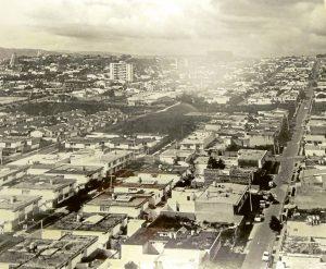 Así se veía ese sector de Cabecera a principio de los años 60s, antes de la construcción del Centro Comercial Cabecera. - Carlos A. Eslava/GENTE DE CABECERA