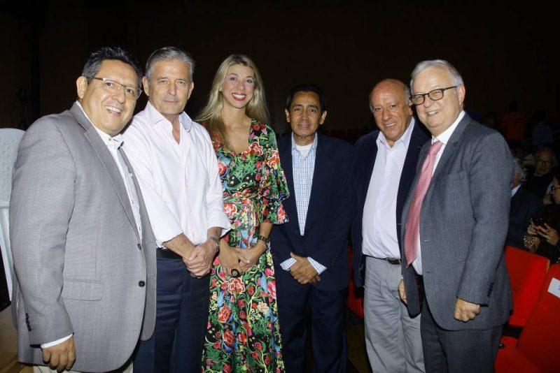 Laureano Reyes, Leonidas Gómez, Erika Suárez, Víctor Parra, Rodolfo Mantilla y Rafael Ardila Duarte. - César Flórez/GENTE DE CABECERA