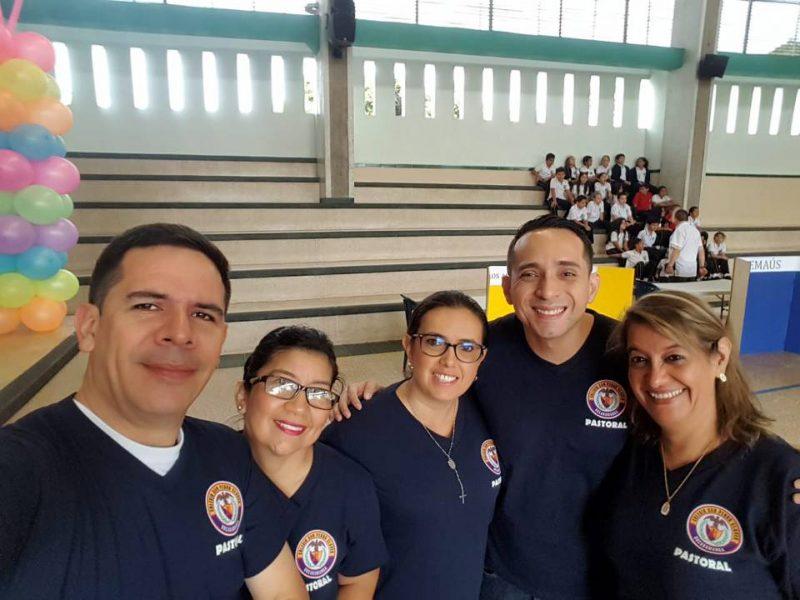 Juan Carlos Amarillo, Marta Figueroa, Yarithza Pinto, Darwin Vega y María Navas. - /GENTE DE CABECERA