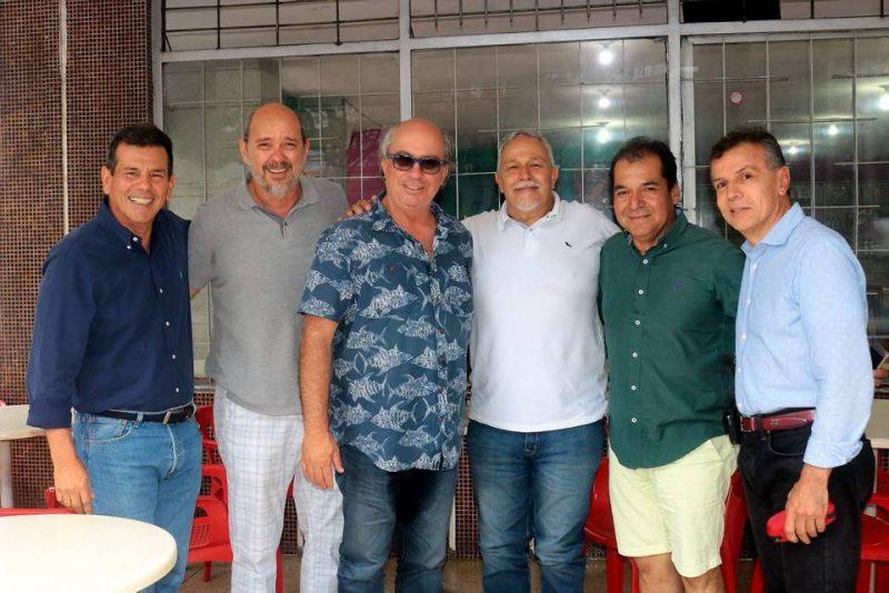 Mario Peralta, Carlos Silva, Rancy García, Gabriel Rodríguez, Ángel Rangel y Gabriel Ramírez. - Fabián Hernández/GENTE DE CABECERA