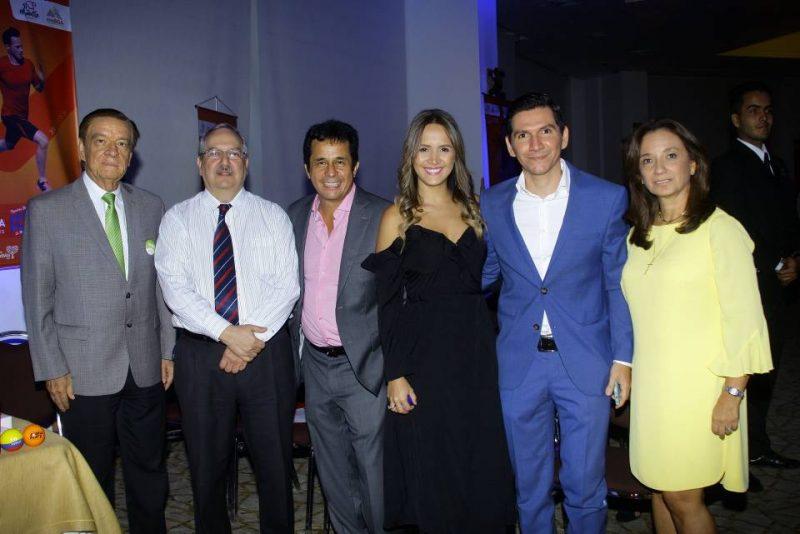 Jorge Gómez Duarte, Victor Castillo, Nino Beltrán, Adriana Gómez, Yok Ardila y Mariela Sánchez. - César Flórez/GENTE DE CABECERA
