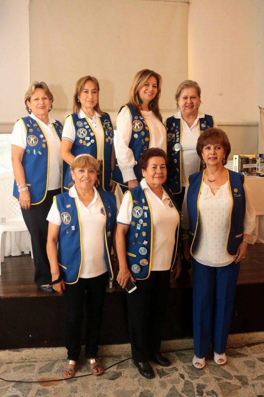 Élide Castillo, Amparo Corredor, Yolanda Acevedo, Beatriz Camacho, Nelly Gamboa, Paulina Ardila y Martha de Cuadros. - Fabián Hernández/GENTE DE CABECERA