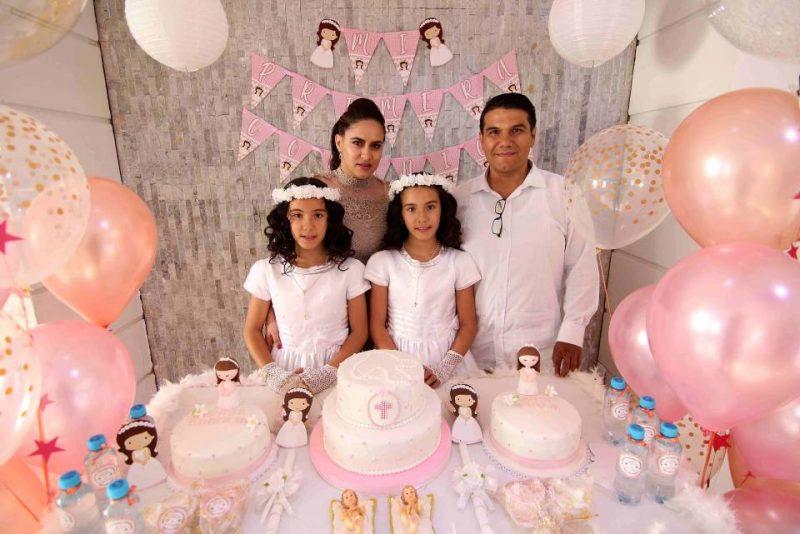 Carolina Gómez, Edgar Parra, Luisa Carolina y María Paula Parra Gómez. - Élver Rodríguez/GENTE DE CABECERA