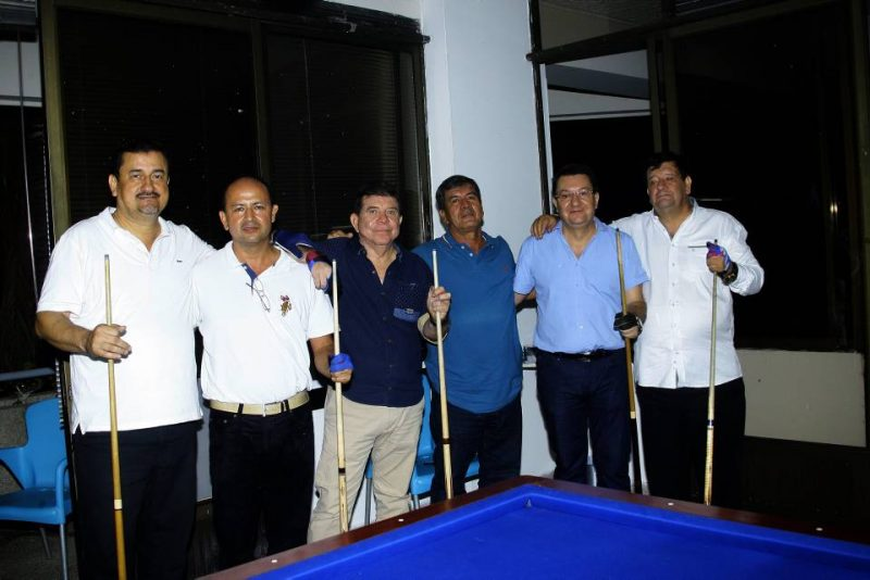 Jaime Pinzón, Luís Alfredo León, Humberto Velázquez, Henrry Reyes, Fredy Ramírez y Jorge Meza. - Fabian Hernández/GENTE DE CABECERA