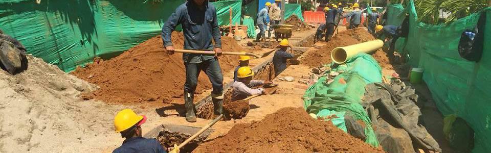 Acueducto realiza obras de reposición de redes en Cabecera