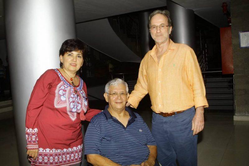 Olga Lucía Santos, Boris Ávila y Donaldo Ortíz Latorre. - César Flórez/GENTE DE CABECERA