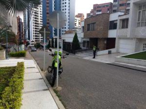 Habitantes de Cabecera agradecen la buena gestión de la Policía del CAI de San Pío en pro de la seguridad del sector. - Suministrada/GENTE DE CABECERA