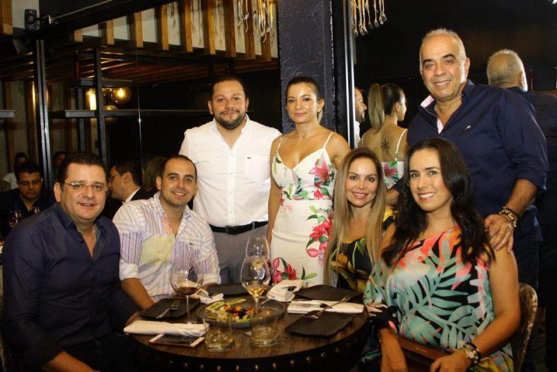 Curry Carrascal, Juan Baez, Sergio García, Stella Acevedo, Laura Blanco, Lisett Hernández y Victor Hugo Hernández. - César Flórez/GENTE DE CABECERA