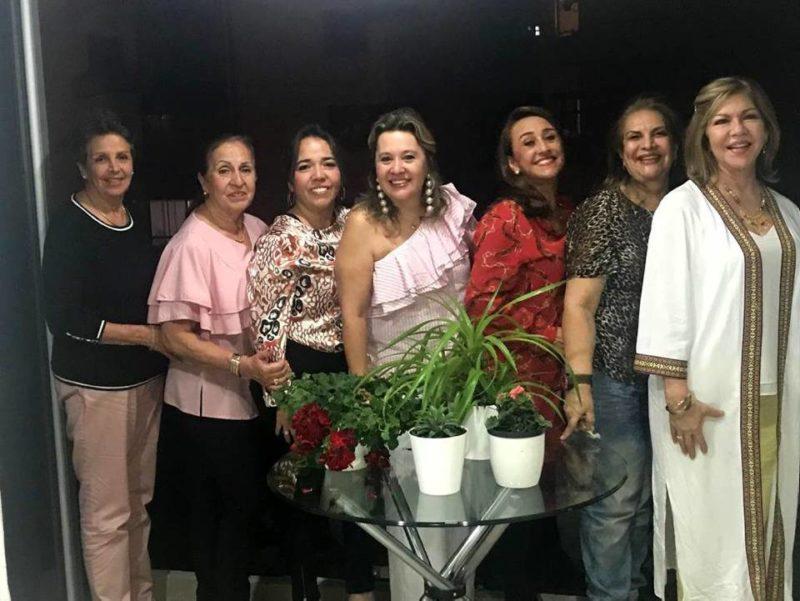 Anita Aycardi, Graciela de Blanco, Ana Milena Manosalva, Trinidad Flórez, Miryam Quintero, Darelys Durán y Carmenza Mantilla. - Suministrada/GENTE DE CABECERA