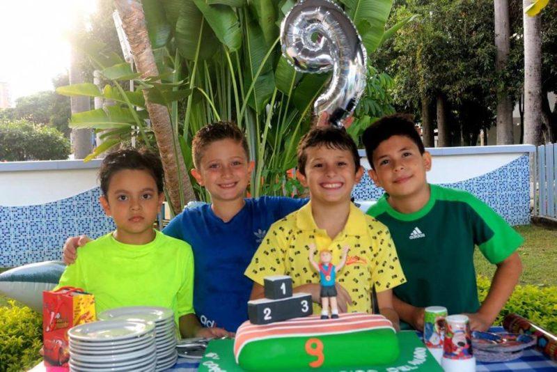 Nicolás Rosales, Nicolás Sánchez, Felipe Arenas y Henry Emiliano Moreno. - FabiánHernández/GENTE DE CABECERA
