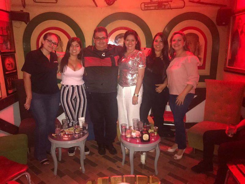 Zayda Moreno, Maritza Ortiz, Manuel Reyes, Adriana Barcenas, Diana Rincón y Claudia Vargas. - Suministrada /GENTE DE CABECERA