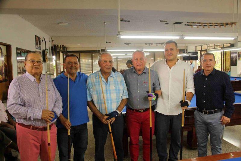 Enrique Díaz, Francisco Castillo, Julio Carrillo, Marco Vinicio, Juan Carlos Ruiz y Germán Murillo. - Élver Rodríguez / GENTE DE CABECERA